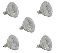 Недорогие -5 Вт. 380-420 lm GU5.3 Точечное LED освещение MR16 1 светодиоды COB Тёплый белый Белый
