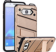 For Samsung Galaxy J7 J5 Prime Case Cover The with Stand Plastic with TPU Frame for J7 J5 (2016) On7 On5 (2016) J2 Prime