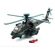 Недорогие -Машинки с инерционным механизмом Вертолет Игрушки Летательный аппарат Автомобиль Вертолет Металлический сплав Куски Универсальные Подарок