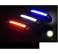 Luci bici Luce posteriore per bici LED LED Ciclismo All'aperto Resistente all'acqua Luce LED Colore variabile USB Batteria al litio 100