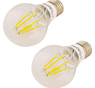 7W Bombillas LED de Globo 6 COB 600 lm Blanco Cálido 3000 K V