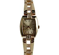 Women's Fashion Watch Bracelet Watch Japanese Quartz / Alloy Band Casual Gold