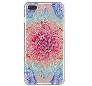 Недорогие -Для iphone 7plus 7 tpu материал кружево цветы модель рельефный телефон корпус 6s плюс 6plus 6s 6 se 5s 5