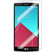 Недорогие -Защитная плёнка для экрана LG для Закаленное стекло 1 ед. Защитная пленка для экрана Уровень защиты 9H HD