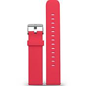 Für gang samsung galaxy s2 20mm mstre Uhrenarmband einfarbig silikon sport band