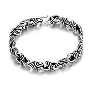 MPL Fashion Silver Mens Bracelet