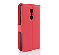 147 Case Cover Wallet Card Holder with Stand Flip Full Body Case Solid Color Hard PU Leather for LenovoLenovo Vibe P1m Lenovo Vibe C