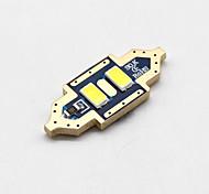 cheap -SO.K 4pcs 31mm / T11 Car Light Bulbs 2W SMD 5730 200lm LED Interior Lights