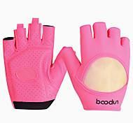 Недорогие -BOODUN/SIDEBIKE® Спортивные перчатки Перчатки для велосипедистов Пригодно для носки Дышащий Износостойкий Защитный Без пальцев Нейлон