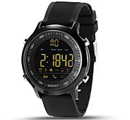 Men's Smart Watch Chinese Digital Calendar / date / day Chronograph Heart Rate Monitor Water Resistant / Water Proof Remote Control