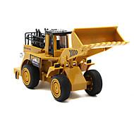 Недорогие -Модели автомобилей Игрушечные машинки Игрушки Строительная техника Экскаватор Игрушки Автопогрузчик Экскаватор Игрушки Металлический сплав
