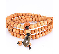 cheap -Men's Wrap Bracelet Strand Bracelet - Natural Fashion Irregular Yellow Bracelet For Special Occasion Gift Sports