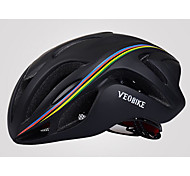Велоспорт шлем Неприменимо Вентиляционные клапаны Велоспорт М: 55-58CM Л: 58-61CM S: 52-55CM