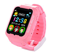 cheap -iPS-A03G Kids GPS Tracker MTK2503 Smart Watch  2.5D Touch Screen With Camera Real Time Monitor Children's Waterproof AGPS LBS Positioning  Watch