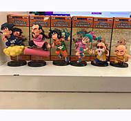 Las figuras de acción del anime Inspirado por Bola de Dragón Son Goku 8 CM Juegos de construcción muñeca de juguete
