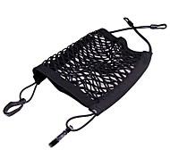 ZIQIAO Universal Elastic Mesh Net trunk Bag/Between Car Organizer Seat Back Storage Mesh Net Bag Luggage Holder Pocket