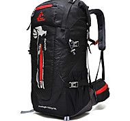 50L Large Camping / Hiking Backpacks For Men Women Cycling Backpack Leisure Sports Bags Mountaineering Packages Traveling Backpacks Steel Bar Support
