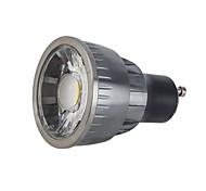 cheap -5W 550 lm GU10 LED Spotlight 1 leds COB Dimmable Warm White Cold White AC 110-220