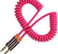 Недорогие -3,5 мм аудио разъем Кабель, 3,5 мм аудио разъем to 3,5 мм аудио разъем Кабель Male - Male Позолоченная медь 3.0M (10Ft)