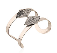 Жен. Браслет цельное кольцо Браслет разомкнутое кольцо Мода Винтаж Железный сплав Металлический сплав Сплав Геометрической формы Бижутерия