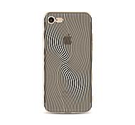 Недорогие -Кейс для Назначение Apple iPhone X iPhone 8 Plus Прозрачный С узором Кейс на заднюю панель Полосы / волосы Мягкий ТПУ для iPhone X iPhone