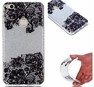 Назначение Чехлы панели IMD Задняя крышка Кейс для Кружева Печать Сияние и блеск Мягкий Термопластик для HuaweiHuawei P9 Huawei P9 Lite