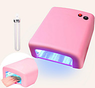 PINPAI JD818 Light Therapy Machine 36W Lamp Nail UV Oil Drying Manicure Tool