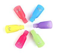 pinpai 5pcs remover гель для полировки ногтей искусственный омыватель uv обезжиривающий инструмент для обертывания случайный цвет