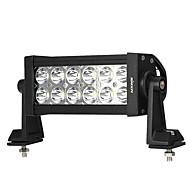 KKmoon 36W LED Car Work Light 6.3 Inch 2700LM Spot Beam Bar for Jeep 4x4 Offroad ATV Truck SUV 12V 24V