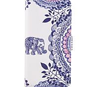 cheap -Case For SONY Xperia X XA Case Cover The Elephant Pattern PU Leather Cases for Sony Xperia X compact XZ Premium Z5 Premium M2 M4 Aqua XA1 Ultra
