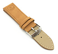 cheap -PU leather Watch Band Strap Brown 24cm / 9 Inches 2cm / 0.8 Inches