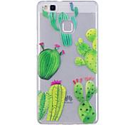 Case For Huawei P10 Lite P10 Phone Case TPU Material IMD Process Cactus Pattern HD Phone Case Honor 8 P9 Lite P8 Lite Y6 II Y5 II