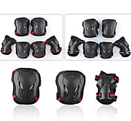 cheap -Adult Protective Gear Knee Pads + Elbow Pads + Wrist Pads Skate Helmet for Cycling Ice Skating Skateboarding Inline Skates Shock Proof