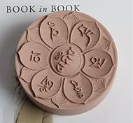 Mantra Handmade Soap Gesso Mold DIY Silicone Wax Disk Mold Handmade Soap Resin DIY Food Grade Silicone Mold