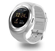 Муж. Спортивные часы Наручные часы Китайский Цифровой LCD Сенсорный дисплей PU Группа Повседневная Черный Белый Синий Розовый