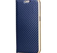 Funda Para Samsung Galaxy S8 Plus S8 Soporte de Coche con Soporte Magnética Cuerpo Entero Color sólido Dura Fibra de Carbono para S8 S8