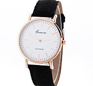 cheap -Geneva Women's Quartz Wrist Watch Sport Watch Casual Watch Leather Band Charm Luxury Creative Casual Unique Creative Watch Elegant