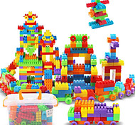 cheap -Approx 190PCS Interlocking Assembly Big Bricks Building Blocks DIY Early Educational Construction Toys Set Kid Model Designer Jigsaw Toys Kit