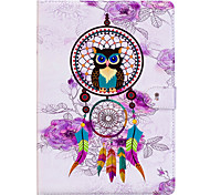 cheap -Case For Apple iPad Mini 4 iPad Mini 3/2/1 iPad 4/3/2 iPad Air 2 iPad 10.5 iPad mini 4 Card Holder Wallet with Stand Back Cover Dream
