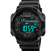 cheap -SKMEI Men's Digital Digital Watch Wrist Watch Military Watch Sport Watch Japanese Alarm Calendar / date / day Chronograph Water Resistant