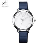 SK Women's Sport Watch Wrist watch Chinese Quartz Shock Resistant PU Band Casual Elegant Minimalist Cool Navy