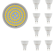 cheap -10pcs 5W 400lm GU10 GU5.3 LED Spotlight 80 LED Beads SMD 2835 Decorative Warm White Cold White 220-240V