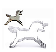 1 pc Unicorn Shape Stainless Steel Biscuit/ Cookie Cutter Fruit Vegetable Baking Mold for Home Chinese Kitchen Supplies