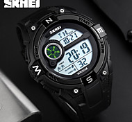 SKMEI Men's Sport Watch Digital Watch Wrist watch Digital Calendar Water Resistant / Water Proof Alarm Stopwatch Noctilucent Rubber Band