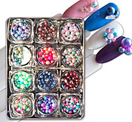 cheap -# Decorating Tool Persona Beads Collection Fashion Cute Multi-shade High Quality Camouflage Candy Daily Nail Art Tool Nail Art Design