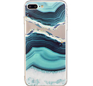 For iPhone 7Plus 7 Phone Case TPU Material Agate Pattern Painted Phone Case 6s Plus 6Plus 6S 6 SE 5s 5