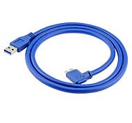 USB 3.0 Кабель, USB 3.0 to USB 3.0 Micro-B Кабель Male - Male 1.0m (3FT)