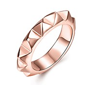 cheap -Women's Ring Jewelry Basic Unique Design Heart Geometric Circle Friendship Adorable Personalized Hip-Hop Hypoallergenic Cute Style