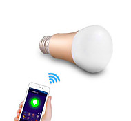 E26/E27 LED Smart Bulbs A50 24 leds SMD 5050 Dimmable Decorative WIFI RGB 600lm RGBK AC 220-240V