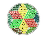 Недорогие -Настольные игры Игрушки Большой размер Круглый Стекло Куски Не указано Подарок